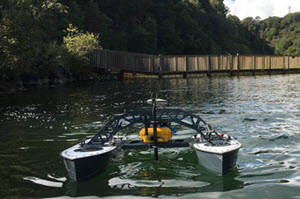 Small Portable Hydrographic USV