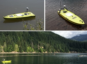 ARC Boat and CEE USV on the West Coast USA