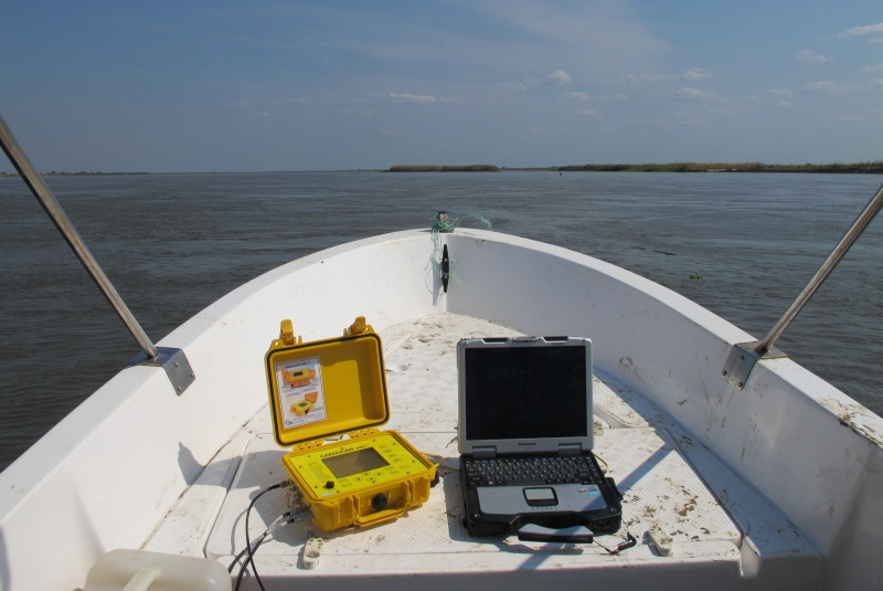 CEEDUCER PRO Survey Single Beam Echo Sounder and GPS