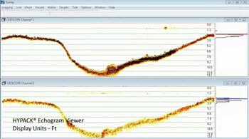 HYPACK-echogram-CEESCOPE-bathymetry