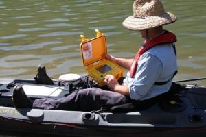 ceeducer-pro-on-kayak