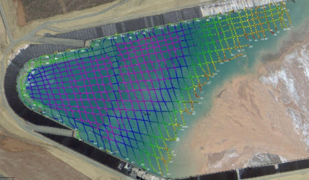 HYPACK TailingsPond_Survey_Newfields_bathymetry-example
